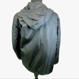 Prada Removable Lining & Hood Coat L Waterproof